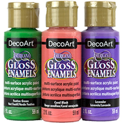 DecoArt Americana Gloss Enamel Paint review