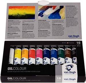 Winsor & Newton Artists' Oil Colour Paint Introductory Set