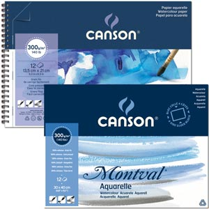 Canson Montval Watercolor Pad review