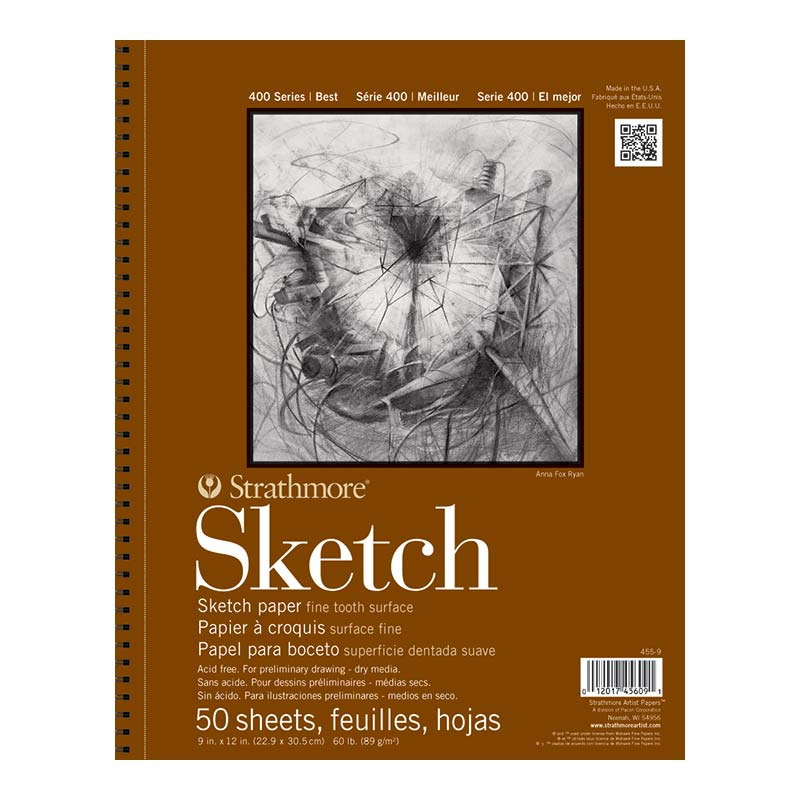 Strathmore 400 Series Sketch Paper