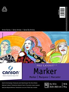 Canson Artist Series Pro Layout Marker Pad review