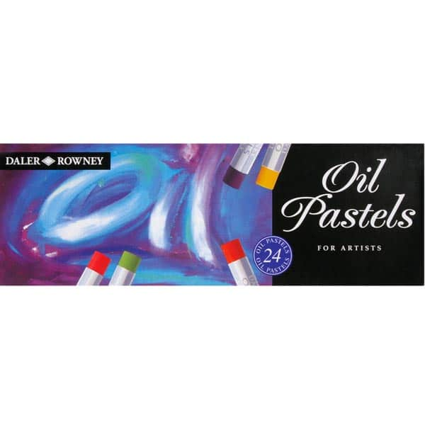 Daler Rowney Oil Pastel Set (24 Pieces) review