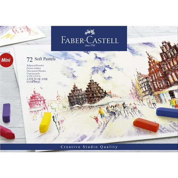 Faber-Castell Creative Studio Soft Pastel (72 Pack) review