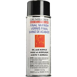 Grumbacher Picture Gloss Varnish review