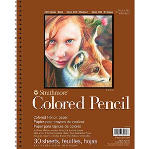 Strathmore Colored Pencil Pad review